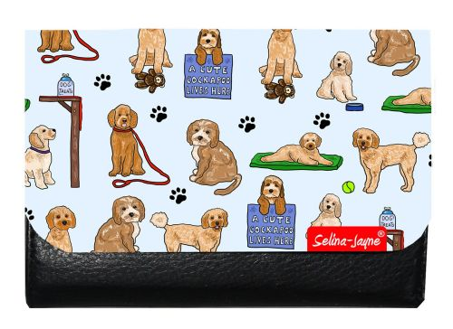Selina-Jayne Cockapoo Dogs Limited Edition Designer Small Purse